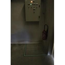 Adhésif Antidérapant - 50mm x 18m - Bande photoluminescente