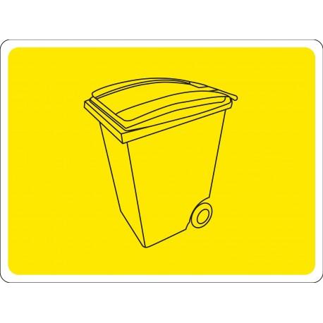 Pictogramme Emplacement poubelle B773