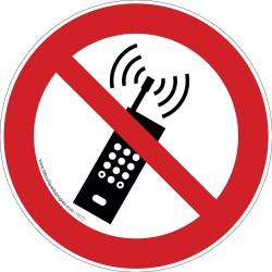 Pictogramme Téléphone interdit P013