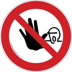 Pictogramme Accès interdit aux personnes non autorisées P175
