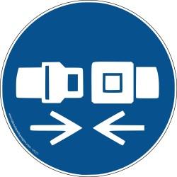 Pictogramme Attacher la ceinture de sécurité M020