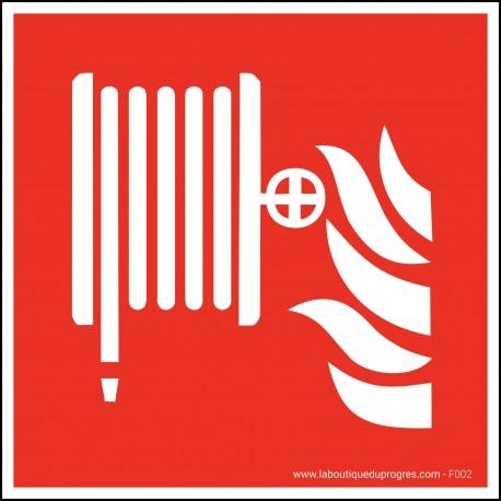 Pictogramme Robinet incendie armé F002