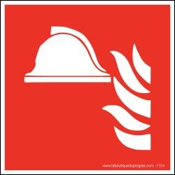 Pictogramme Equipement de lutte incendie F004
