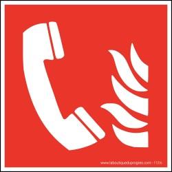Pictogramme Téléphone d'urgence F006