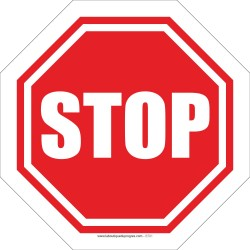 Pictogramme Stop B701