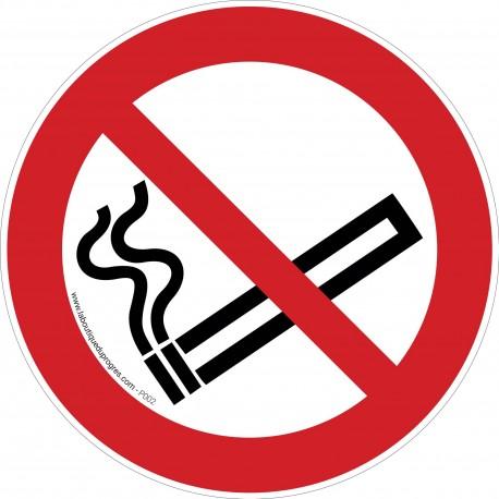 Pictogramme Interdiction de fumer P002