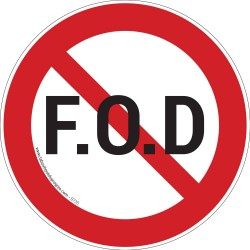 Pictogramme Interdiction FOD B735