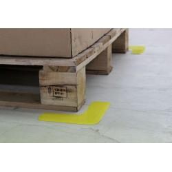 Forme adhésive de traçage au sol : Angle 90° - 150mm