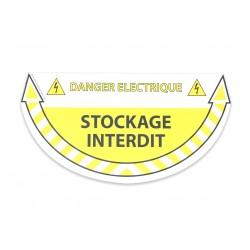 Pictogramme de sécurité - Danger électrique