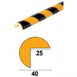 Profilés de protection - Modèle A pour angle droit - 1m