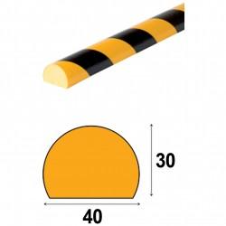 Profilés de protection - Modèle C pour surface plane - 1m