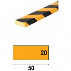 Profilés de protection - Modèle D pour surface plane - 1m