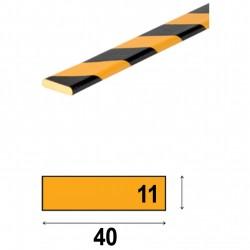 Profilés de protection - Modèle F pour surface plane - 1m
