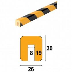 Profilés de protection - Modèle G pour IPN - 1m