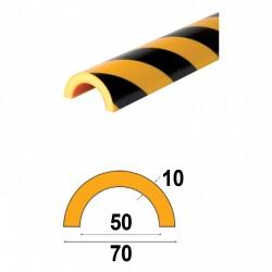 Profilés de protection - Modèle R pour tubes - 1m