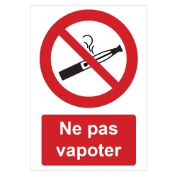 Pictogramme Interdiction de vapoter B731